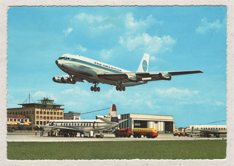 Pan Am &#252;ber Stuttgart