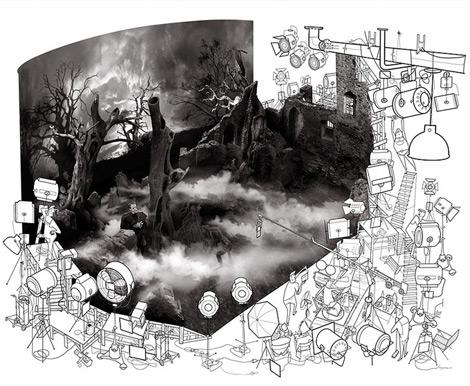 Jonas Bergstrand - Monsters Inked Exhibition